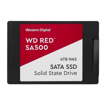 """Western Digital WDS400T1R0A Red SA500 2.5"""" 4000 GB SATA III 3D NAND"""