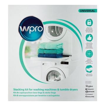 Whirlpool Wpro SKS101 Kit Sovrapposizione universale con ripiano scorrevole