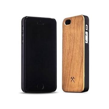 Ecocase classic iphone 5 5s se bambù+nero