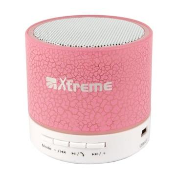 XTREME Gamma 3 W Altoparlante portatile mono Rosa, Bianco