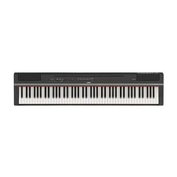 Yamaha P-125 MIDI 88 chiavi USB Nero