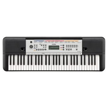 Yamaha YPT-260 Pianoforte 61 chiavi Nero, Bianco