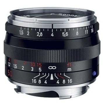 Zeiss C-Sonnar T* 50mm f/1.5 ZM Nero