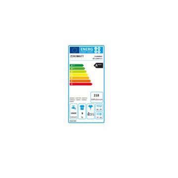 Zerowatt OZ 129T-S - Lavatrice Classe A+++ con Display Touch 1200 giri Capacità lavaggio 9kg