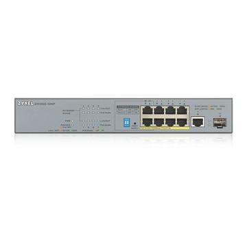 ZyXEL GS1300-10HP-EU0101F Non gestito Gigabit Ethernet Grigio PoE
