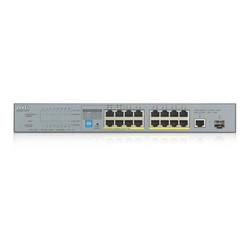 ZyXEL GS1300-18HP-EU0101F Non gestito Gigabit Ethernet Grigio PoE