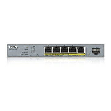 ZyXEL GS1350-6HP-EU0101F Gestito L2 Gigabit Ethernet Grigio PoE