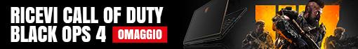 Black Ops 4 in Omaggio con Intel i7 o i9 8° gen MSI Gaming