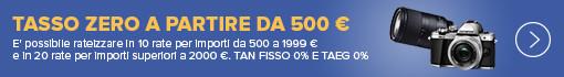 Olympus e Tamron Tasso Zero a partire da 500 €
