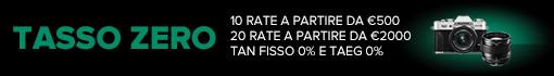 Fuji Tasso Zero a partire da 500 €