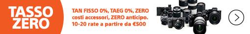 Sony Tasso Zero sopra 500 €