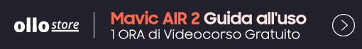 Acquisti su OlloStore il nuovo Drone Mavic Air 2 riceverai In OMAGGIO VideoCorso