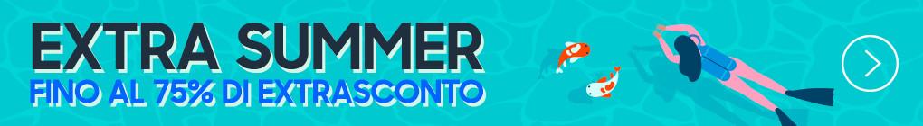 A GRANDE RICHIESTA Sconto Extra Summer! promozione valida su tantissimi prodotti
