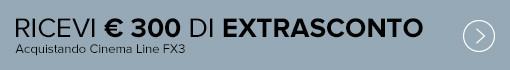 Sony FX3 + ottiche selezionate: 300 € di Extrasconto in cassa