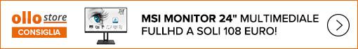 Ollo Store consiglia MSI Monitor 24
