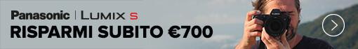 Panasonic Instant Cashback Serie S Settembre
