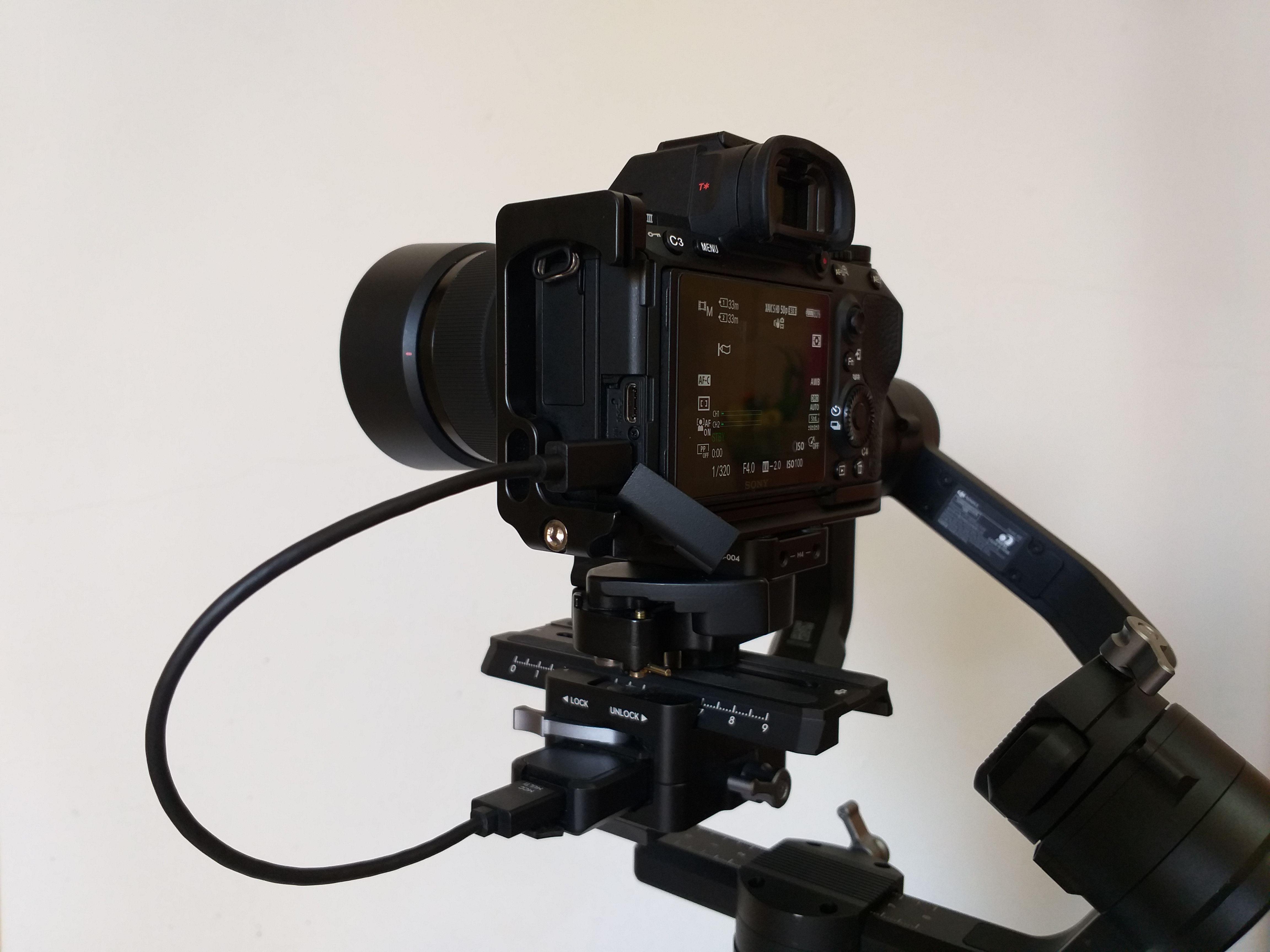 Multi-Camera Control Cable (Multi-USB) per Ronin-S