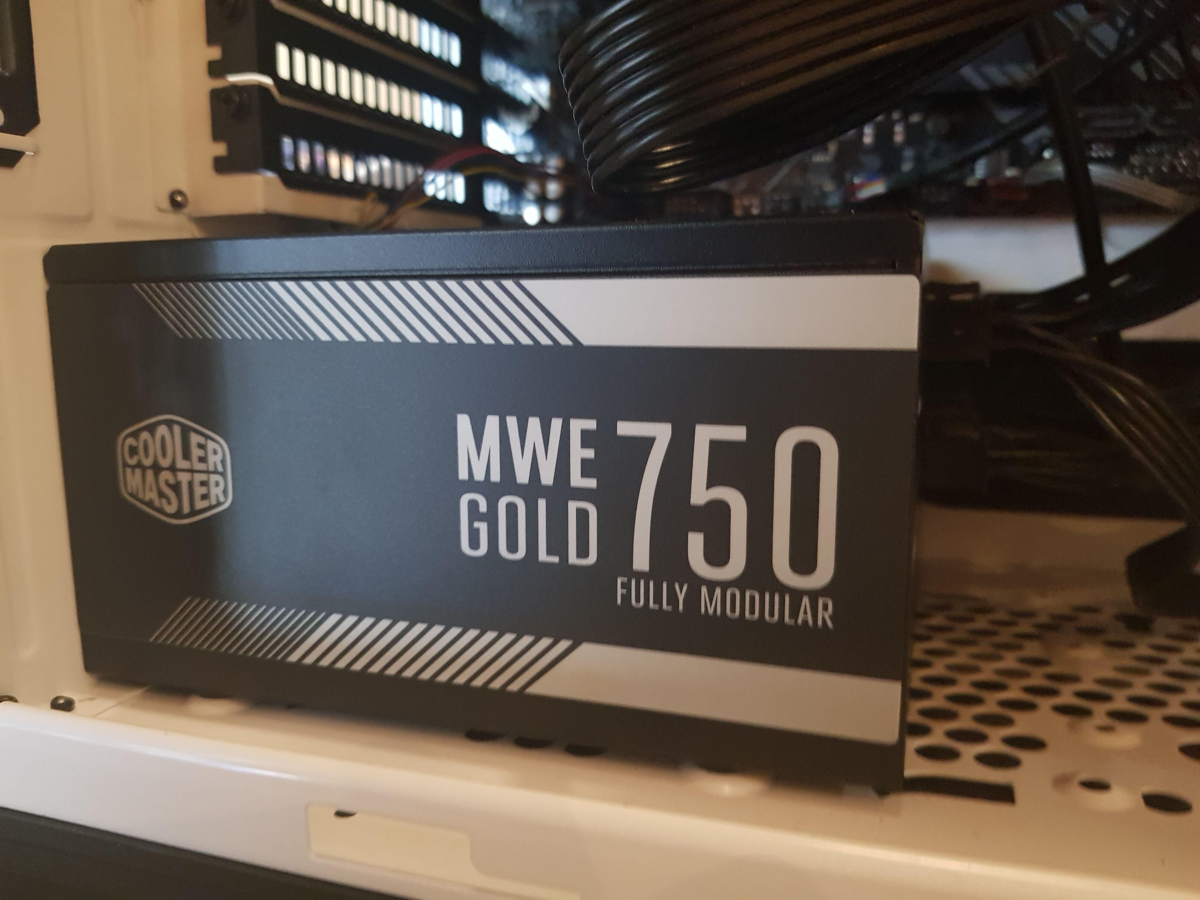 MWE Gold 750W 80 Plus Gold Modulare