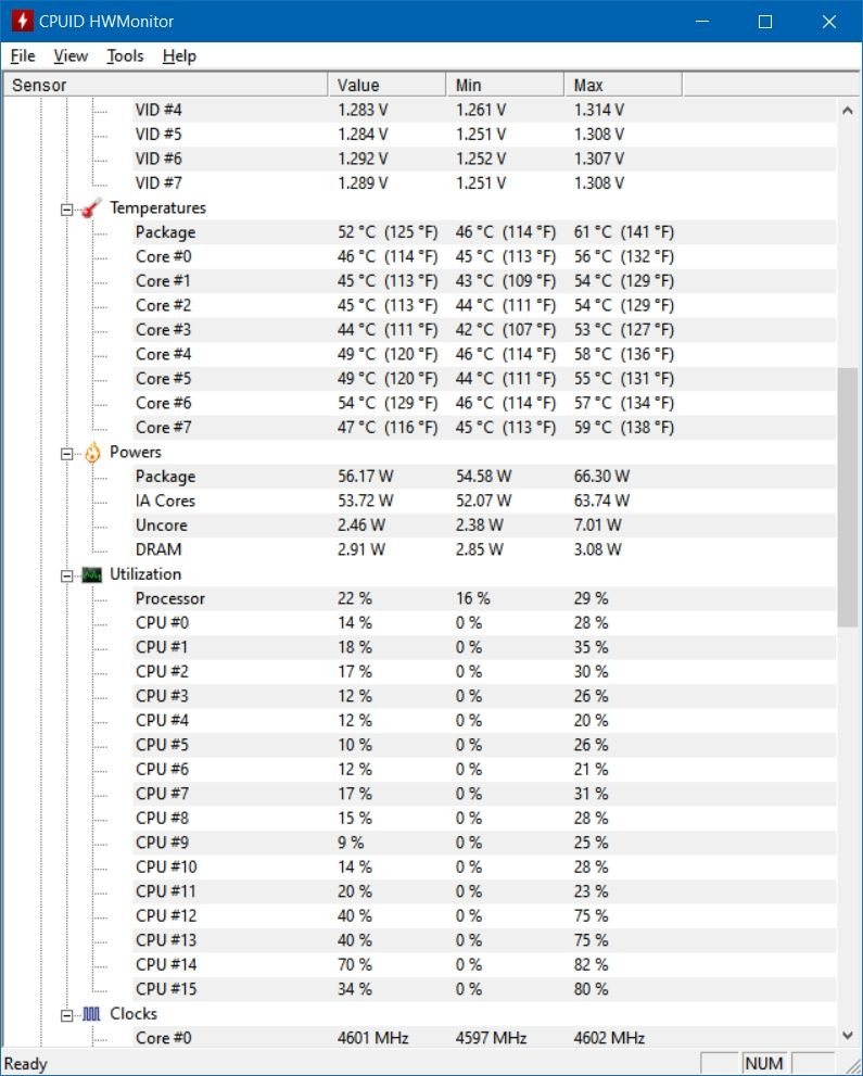 1200 Core i7-10700 2.9 GHz 16MB 8 Core 16 Threads