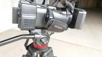 Testa video con semisfera 75mm con una leva fissa