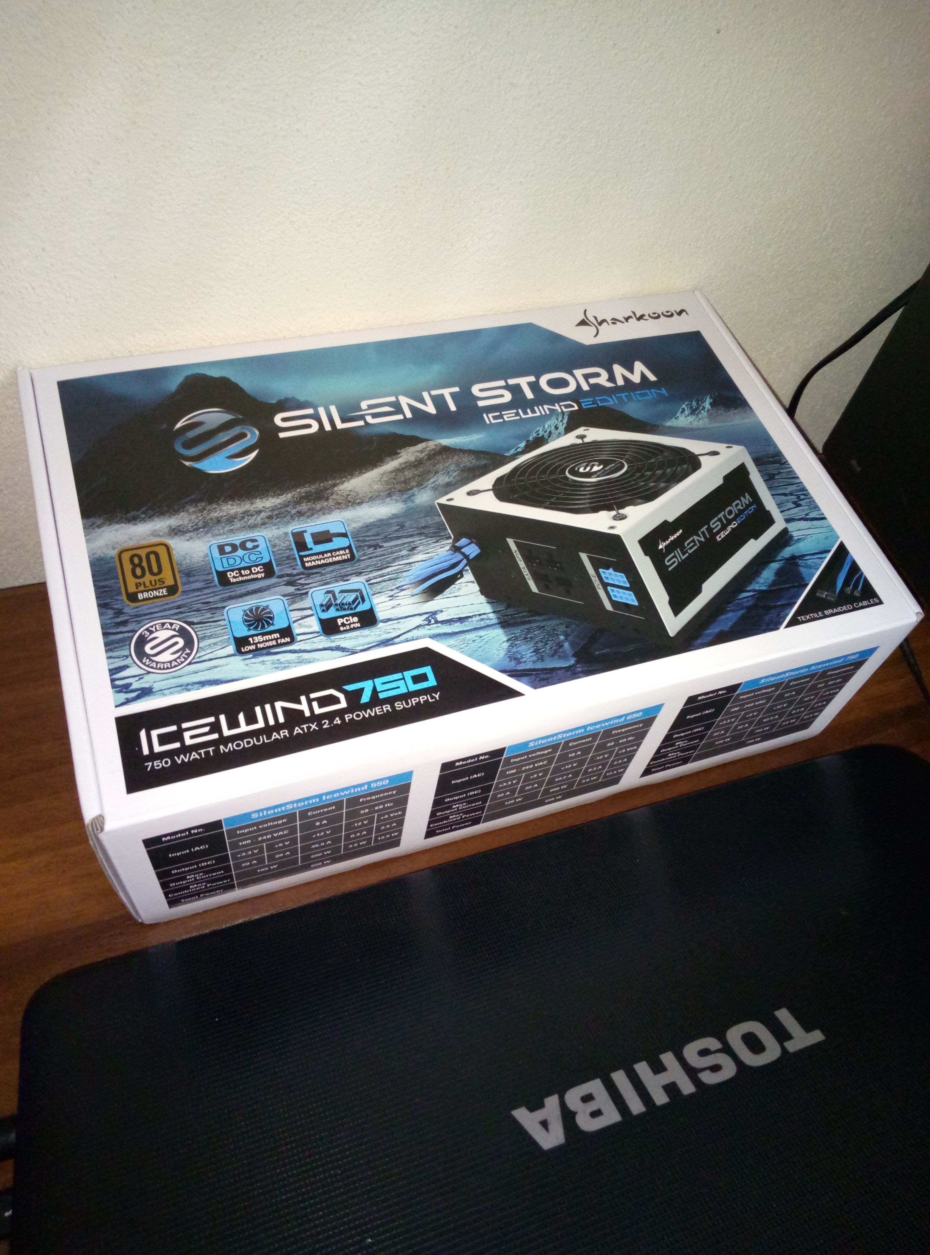 SilentStorm Icewind 750W ATX