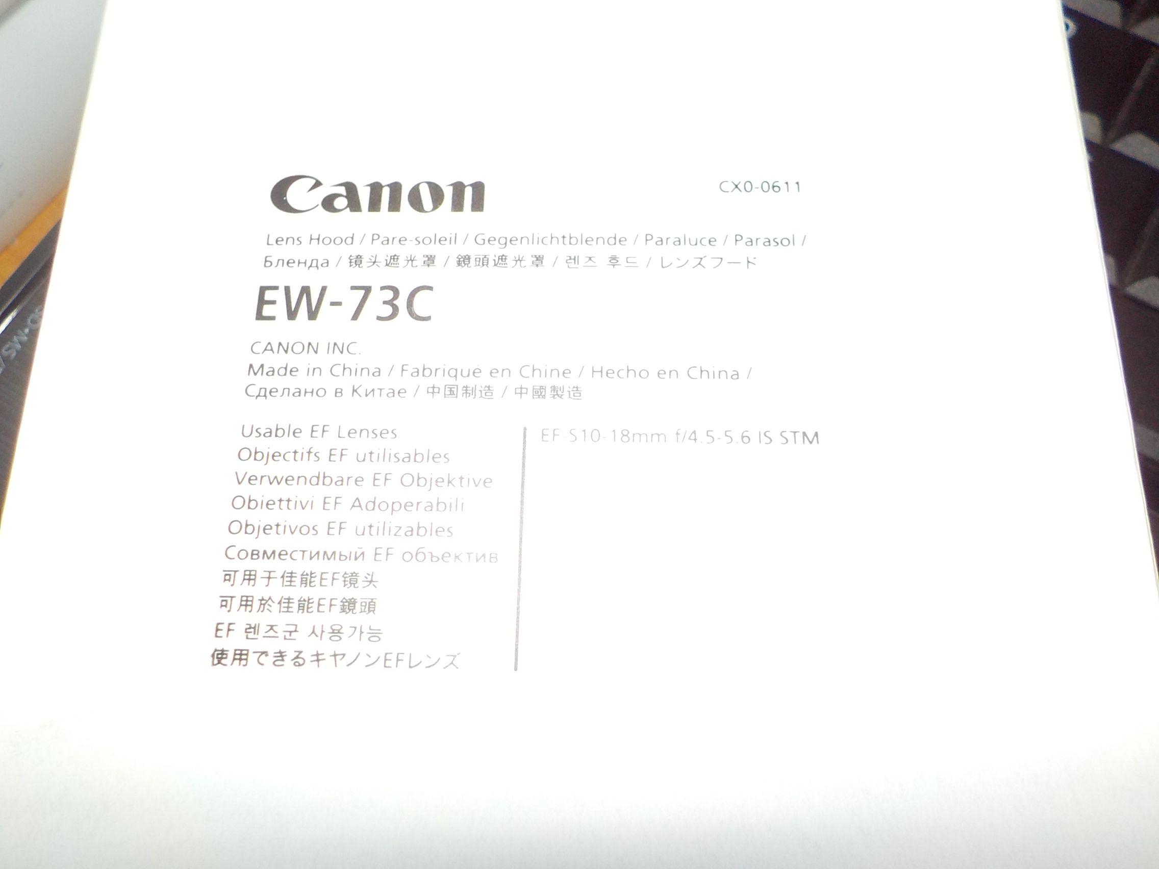 EW-73C paraluce per 10-18 IS STM