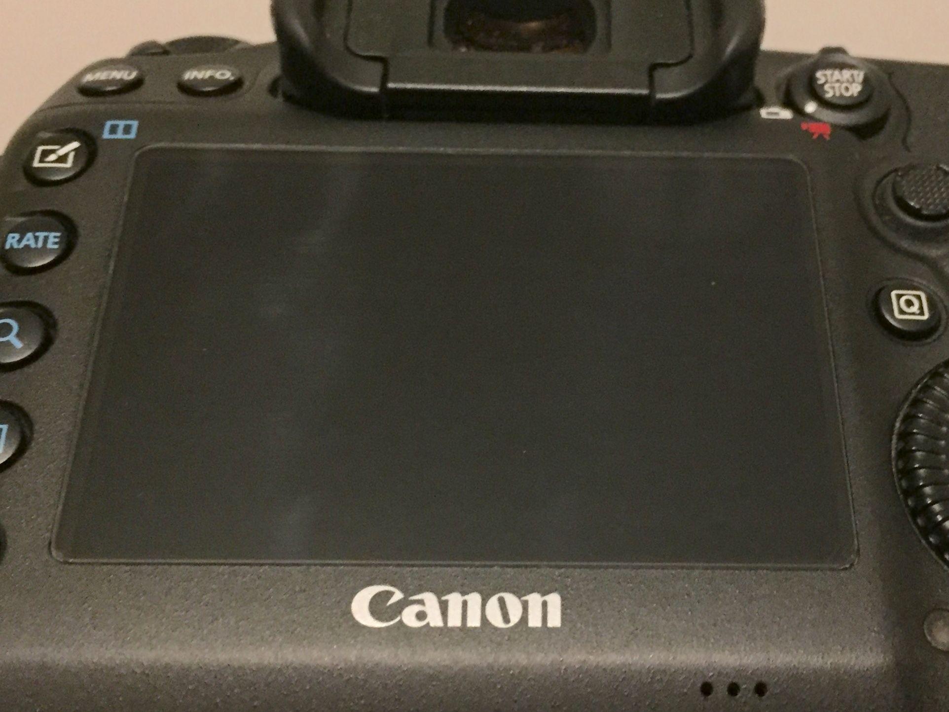 Protezione in vetro temperato per Canon 5D Mark III / 5DS / 5DSR / 5D Mark IV
