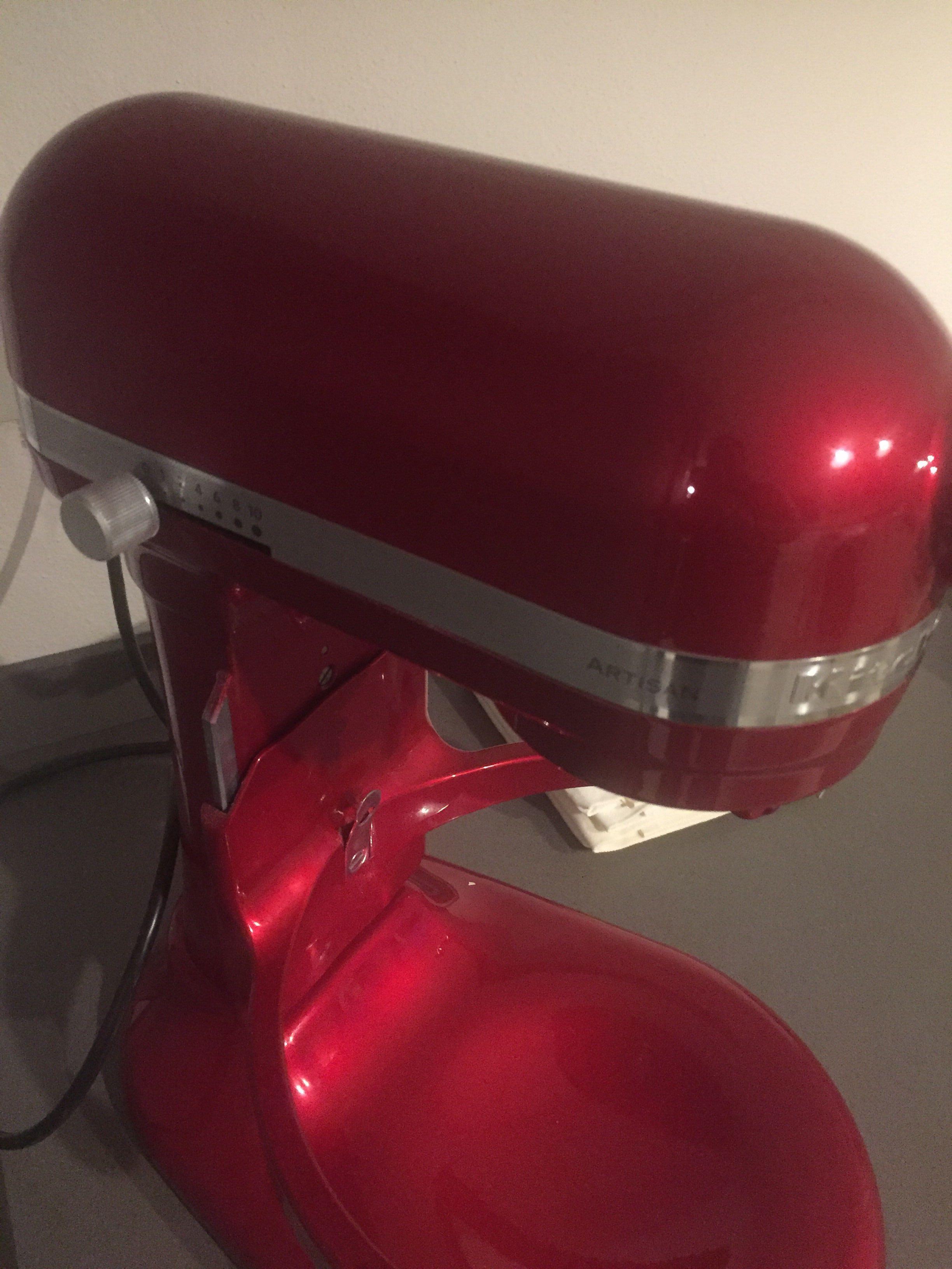 Robot da cucina Artisan da 6,9 Lt Rosso Mela Metallizzato 5KSM7580XECA
