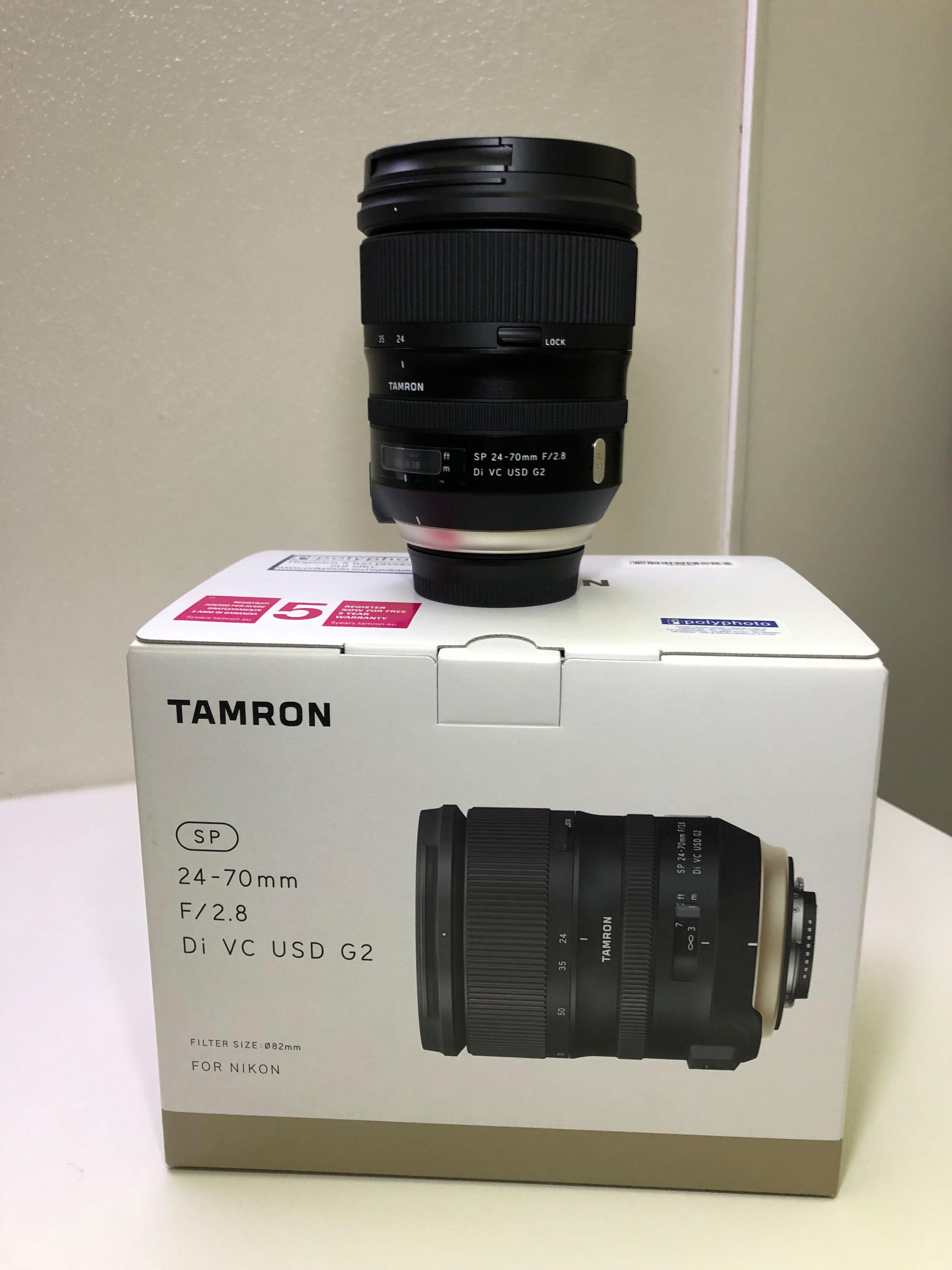 SP 24-70mm f/2.8 Di VC USD G2 Nikon