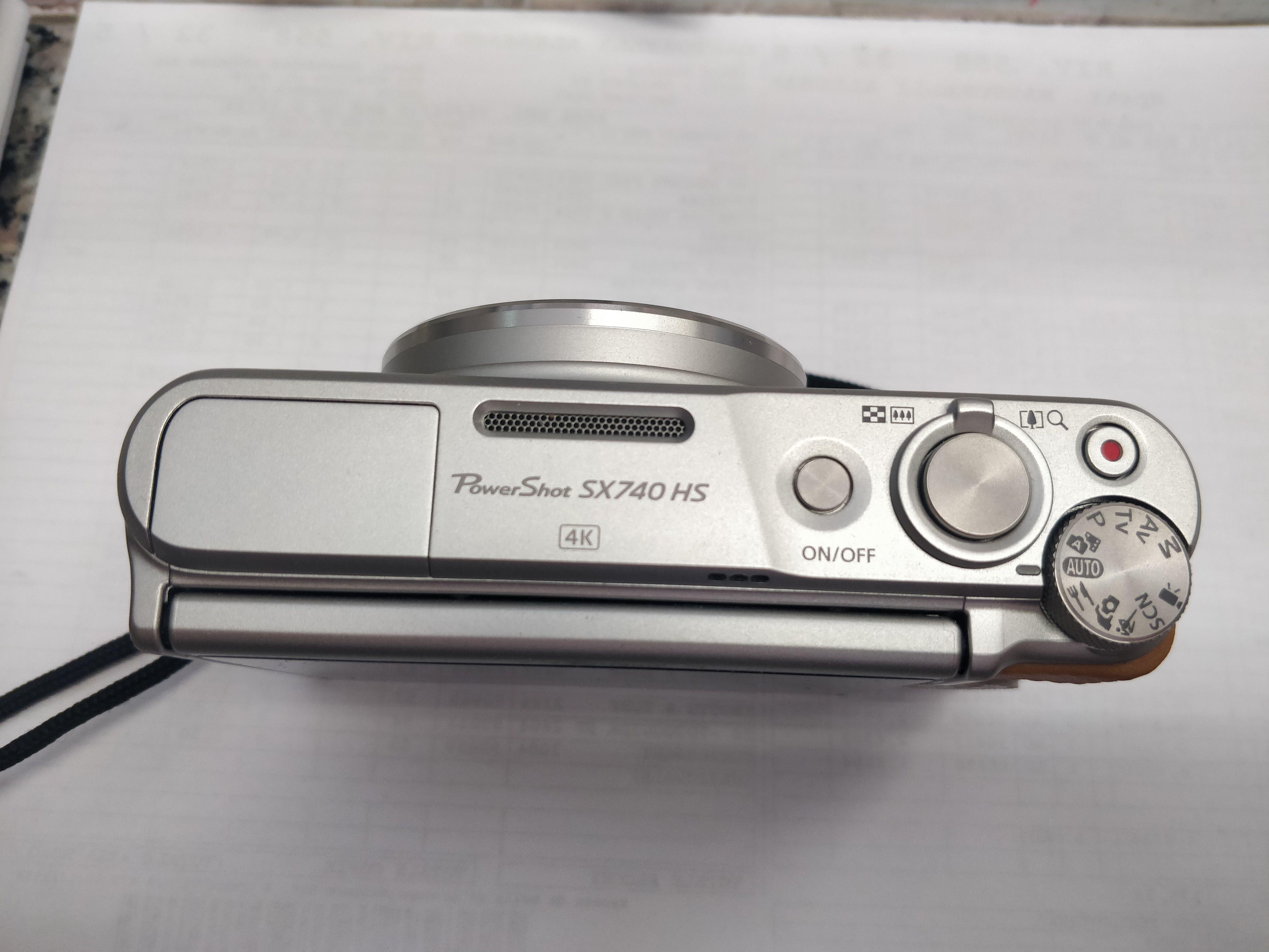 PowerShot SX740 HS - Argento