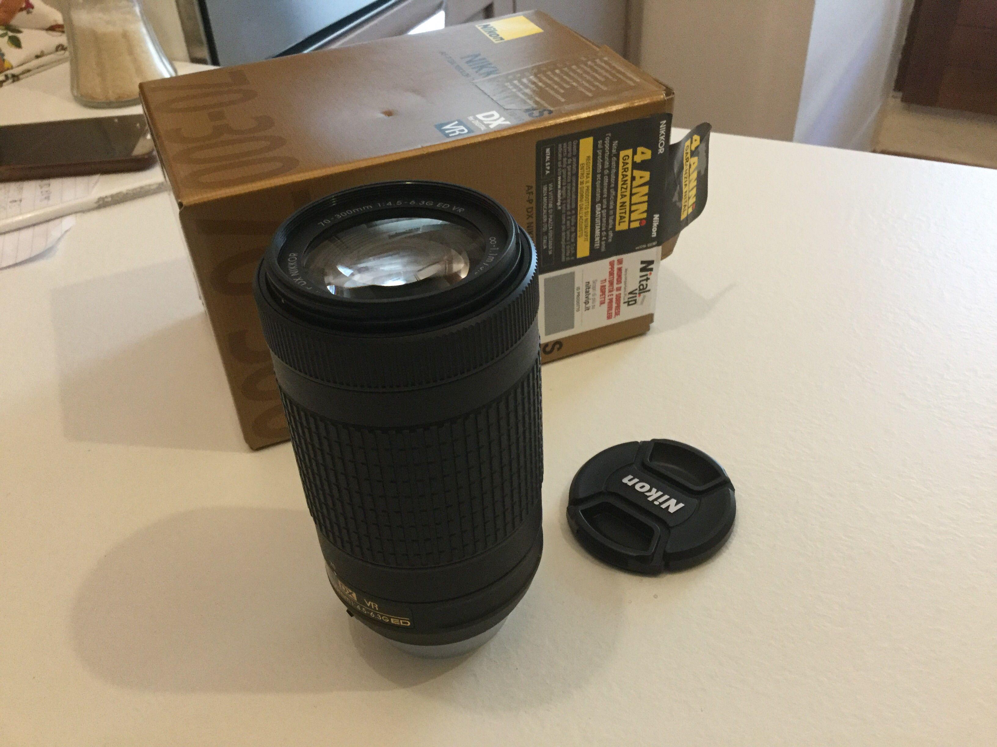 Nikkor AF-P DX 70-300mm f/4.5-6.3G ED VR