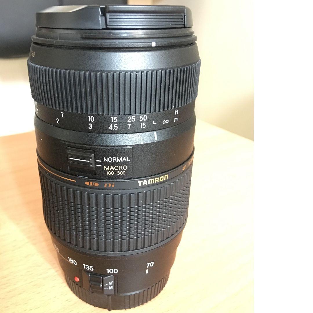 70-300mm f/4-5.6 Di LD Macro Canon