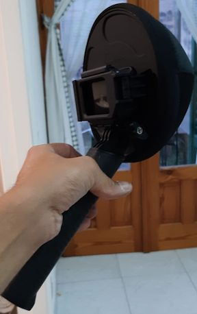 Dome Fifty Fifty per GoPro Hero 5 / 6 / 7