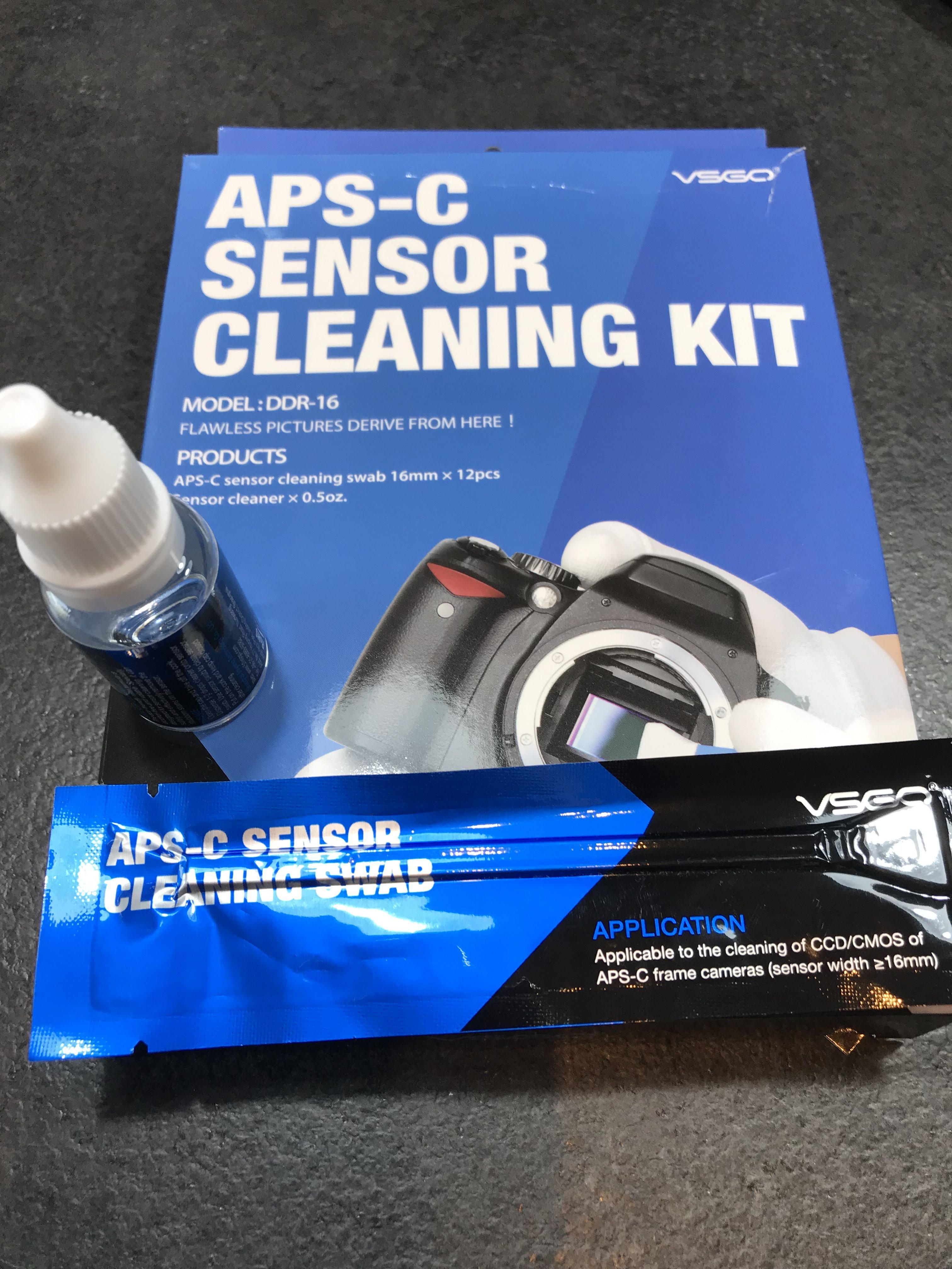 Kit completo per la pulizia sensori APSC Nikon Canon Sony Pentax Olympus e Altre Fotocamere Mirrorless / Reflex